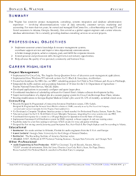 Resume Professional Summary Sample by Professional Summary On Resume Examples Free Resume Example And