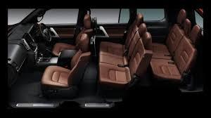 land cruiser interior 2018 toyota land cruiser prado new design interior youtube
