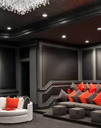 Home Cinema Decorating Ideas How To Build A Home Theater On A Budget Small Media Rooms