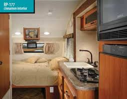 r pod cer floor plans r pod small travel trailer interior view light weight to pull with
