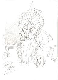 captain nemo by kevin o u0027neill in steve shayler u0027s my art comic art