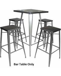 stainless steel bar table amazing shopping savings 180171 24 bar table with square top