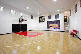 Backyard Basketball Courts And Home Gyms Sport Court Unique Home - Home basketball court design