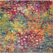 Square Rug 5x5 Square Area Rugs Rugs The Home Depot