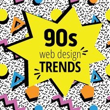 Homepage Design Trends by Throwback To The 90s How Brands U0027 Websites Evolved