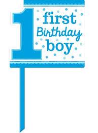 1st birthday boy blue boy 1st birthday yard sign 15in x 14in party city