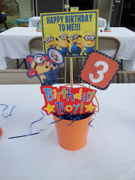 minions centerpieces 79 best minion party images on minion party minion