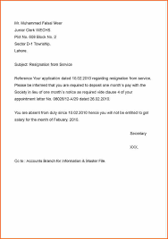 8 samples of resignation letters budget template letter