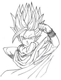 dragon ball gohan drawings pictures pin thepinsta