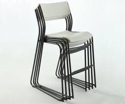 White Bistro Chair Lifetime Bistro Cafe Stools 80054 White Chair 14 Pack