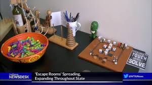 escape rooms u0027 spreading expanding throughout the state youtube
