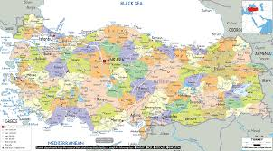 Istanbul Map Turkey Istanbul Map Atlas Of The World Political Best On