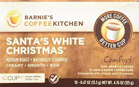 barnie s coffeekitchen santa s white single serve