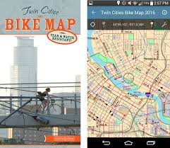 Portland Bike Maps by Mn Bike Trail Navigator May 2015