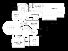 mascord house plan 2417 the aster