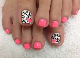 50 pretty toenail art designs toenail art designs pink polish