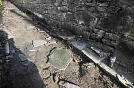 Blackburn Flags Blackburn Path U0027impossible To Walk On U0027 After Stone Thieves Strike