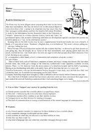 printable reading comprehension test mobile phones reading comprehension my english printable worksheets