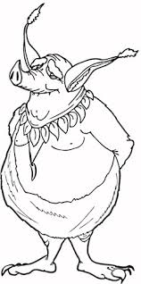 gremlins coloring pages scary monsters coloring pages free printable pictures