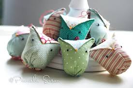 susan the cutest fabric owl ornaments and i say it