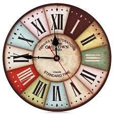 large wall clock 2018 on sale new best wood wall clock vintage quartz large wall