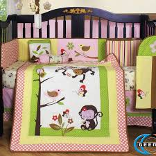 Monkey Crib Bedding Sets Make Your Own Bedding Homesfeed