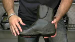 mens motorcycle touring boots alpinestars ridge waterproof boot review at revzilla com youtube