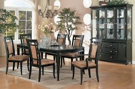 modern formal dining room sets espresso finish contemporary formal dining room w options