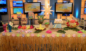 luau decorations create a summer luau party on a budget