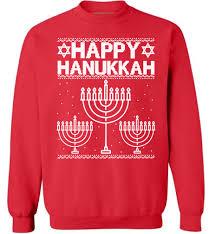 happy hanukkah sweater happy hanukkah sweatshirt happy hanukkah sweater celebration