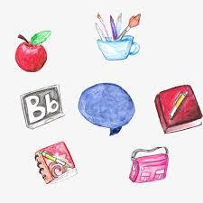 icones bureau gratuits la couleur de la les icônes du bureau couleur peint à la