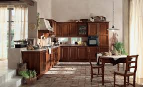 wood and glass kitchen cabinets