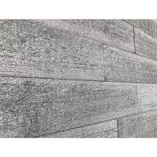 Different Wall Textures 1 4 In X 3 In X 2 Ft Gray Reclaimed Smart Paneling 3d Barn Wood