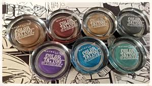maybelline eye studio colour tattoos