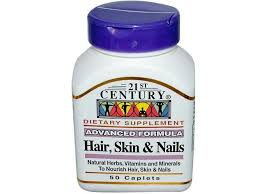 vitamins for hair over 50 21st century hair skin and nails 50 caps for cheap at