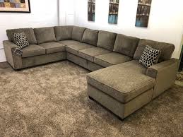U Shaped Sectional Sofa 0 In Stock N002 400 Brown Chenille U Shaped Sectional