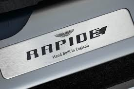 aston martin rapide official thread all electric aston martin rapide confirmed for production by car