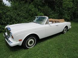 rolls royce white convertible 1988 rolls royce corniche ii vintage motors of sarasota inc