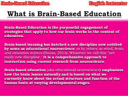 brain based education
