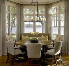 Bay Window Curtain Rod A Tale Of A Bay Window Curtain Rod My Decorating Tips