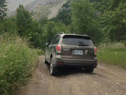 subaru forester off road in photos 2017 subaru forester inside and out and off road the
