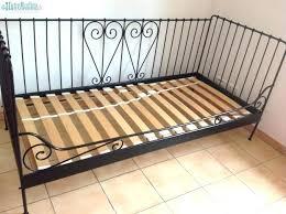 canapé lit ancien lit en fer inspiration lit fer forgac tete de lit en fer forge