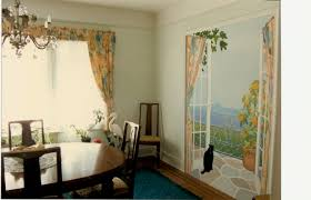 French Doors Dining Room by Bonnie Siracusa Murals U0026 Fine Art
