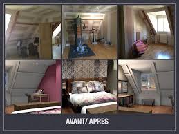 am駭agement chambre en longueur avant après projet de décoration et d aménagement d espace