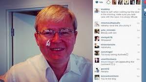Kevin Rudd Memes - more political cuts kevin rudd nicks himself shaving posts it on