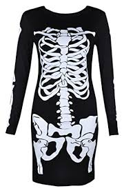 aesthetic official womens ladies halloween skeleton skull bone