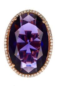 14k gold large diamond amethyst 320 best amethyst is my birthstone rings on my fingers images on