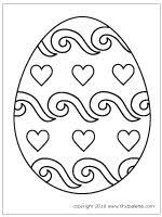 Coloring Eggs Free Printable Easter Eggs Coloring Pages Yellow Birthday
