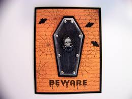 ann greenspan u0027s crafts halloween coffin cards