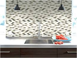 interior simple self adhesive wall tiles with stainless sink and
